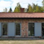 Hus tegel-Passiv solvärme