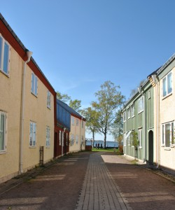 Lättbetonghus i sunda materail, Vadstena
