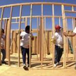 Bygge-byggarbetsplats
