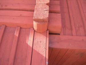 trä timmer knutar