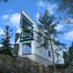 Ekologiskt träregelhus med linisolering