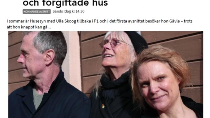 Ekobyggportalen gästar Husesyn med Ulla Skoog