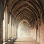 monastery, monastery vaults, cloister